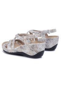 Złote sandały Berkemann