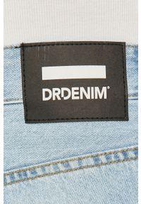 Niebieskie szorty Dr. Denim na co dzień, gładkie, casualowe