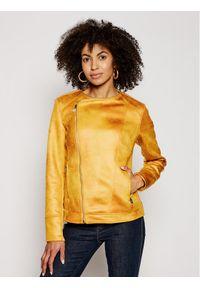 Żółta kurtka przejściowa Desigual street #6