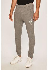 Szare spodnie dresowe Armani Exchange