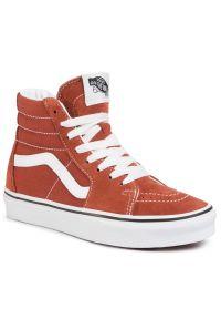 Pomarańczowe buty sportowe Vans