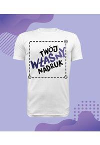 MegaKoszulki - Koszulka męska premium z własnym nadrukiem. Wzór: nadruk