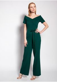Zielony kombinezon Lanti elegancki