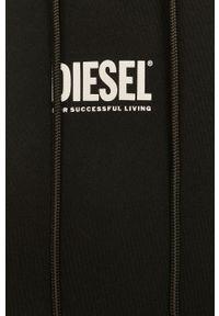 Czarna sukienka Diesel casualowa, na co dzień, oversize