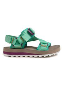 Zielone sandały Merrell