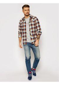 Musto T-Shirt Lr Logo 84008 Szary Regular Fit. Kolor: szary #3