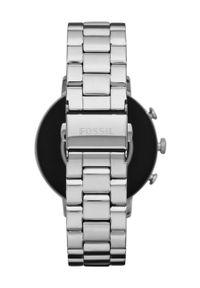 Srebrny zegarek Fossil smartwatch