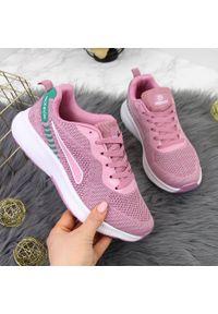 Różowe buty sportowe McKeylor