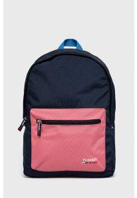 Tommy Jeans - Plecak. Kolor: niebieski. Materiał: poliester