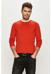 Czerwony sweter Tom Tailor casualowy, na co dzień