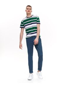 Niebieskie spodnie TOP SECRET długie, eleganckie