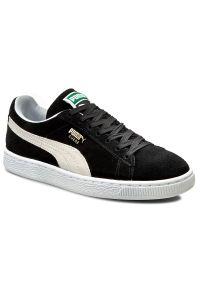 Czarne sneakersy Puma z cholewką, Puma Suede
