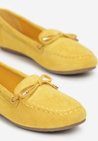 Żółte mokasyny Born2be