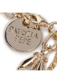 Złota bransoletka Patrizia Pepe złota