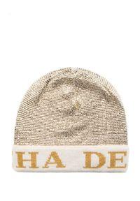 Beżowa czapka Deha