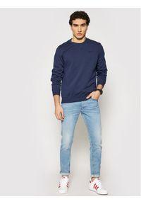 Pepe Jeans Bluza PM581140 Granatowy Regular Fit. Kolor: niebieski