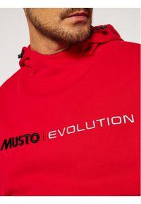 Musto Bluza Evo Logo 82043 Czerwony Regular Fit. Kolor: czerwony #4