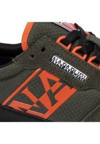 Zielone sneakersy Napapijri