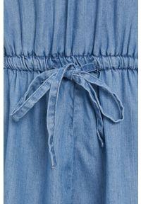 TALLY WEIJL - Tally Weijl - Kombinezon. Okazja: na co dzień. Kolor: niebieski. Materiał: tkanina. Wzór: gładki. Styl: casual