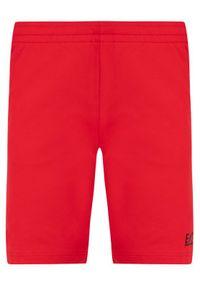Czerwone spodenki sportowe EA7 Emporio Armani #6