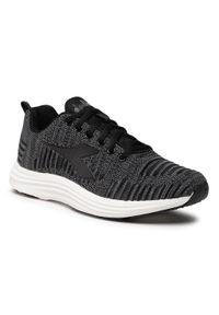 Czarne buty do biegania Diadora