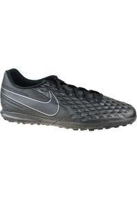 Czarne turfy Nike w kolorowe wzory, z cholewką