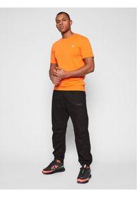 Pomarańczowy t-shirt Guess