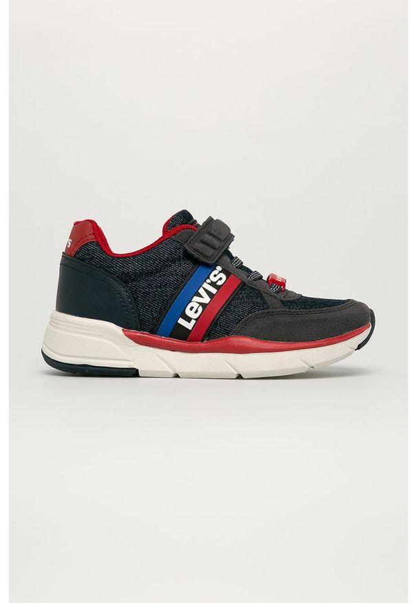 Buty sportowe Levi's® z cholewką, w kolorowe wzory, z okrągłym noskiem