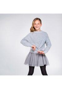 Mayoral Komplet sweter i sukienka 7974 Szary Regular Fit. Kolor: szary #6