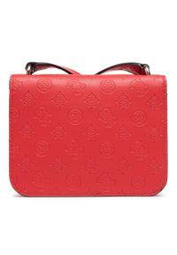 Guess - Torebka GUESS - Noelle (PD) Mini HWPD78 79780 RED. Kolor: czerwony. Materiał: skórzane