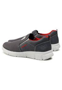 Rieker - Sneakersy RIEKER - B7561-46 Grau. Okazja: na co dzień. Kolor: szary. Materiał: skóra, skóra ekologiczna, materiał. Szerokość cholewki: normalna. Styl: sportowy, casual