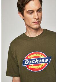 T-shirt Dickies z nadrukiem, na co dzień, casualowy