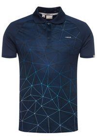 Niebieska koszulka sportowa Head #7