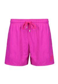 Vilebrequin - Szorty kąpielowe VILEBREQUIN MOOREA. Kolor: różowy. Materiał: materiał. Wzór: aplikacja