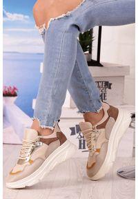 Beżowe buty sportowe IVET na co dzień