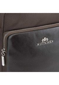 Wittchen - Torba. Kolor: brązowy. Materiał: nylon