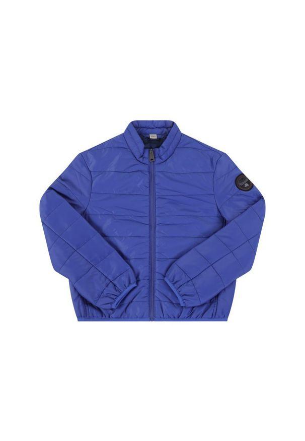 Niebieska kurtka puchowa Napapijri