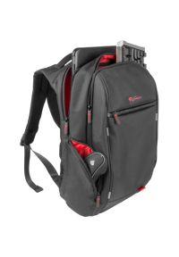 Czarny plecak na laptopa Genesis biznesowy