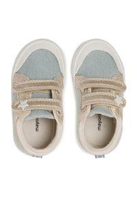 Mayoral - Trampki MAYORAL - 41250 Jeans 76. Zapięcie: rzepy. Kolor: niebieski. Materiał: materiał. Szerokość cholewki: normalna. Wzór: aplikacja