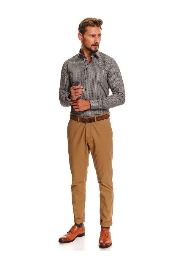 Brązowe spodnie TOP SECRET