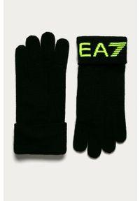 Wielokolorowe rękawiczki EA7 Emporio Armani