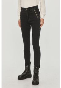 Czarne jeansy GAP