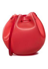 Czerwona torebka worek melissa