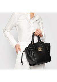 Czarna torebka klasyczna U.S. Polo Assn skórzana