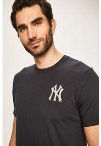 Niebieska bluzka 47 Brand casualowa, z nadrukiem, na co dzień