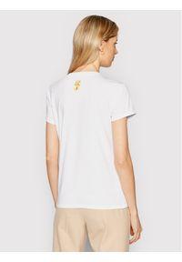 Marella T-Shirt Italia 39710312200 Biały Regular Fit. Kolor: biały
