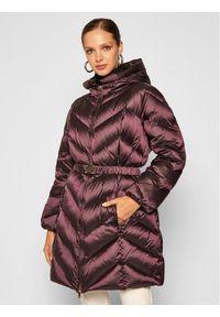 Fioletowa kurtka zimowa Luisa Spagnoli