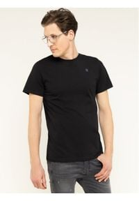 G-Star RAW - G-Star Raw T-Shirt Base-S D16411-336-6484 Czarny Regular Fit. Kolor: czarny
