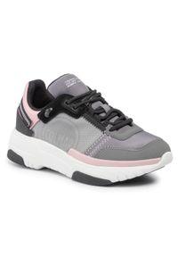 Colmar - Sneakersy COLMAR - Stark Deep 126 Gray/White/Pink. Okazja: na co dzień. Kolor: szary. Materiał: zamsz, materiał. Szerokość cholewki: normalna. Styl: casual