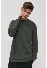 Only & Sons - Bluza bawełniana. Okazja: na co dzień. Kolor: zielony. Materiał: bawełna. Styl: casual